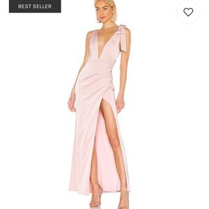 Lovers + Friends Patrick Gown in Light Pink